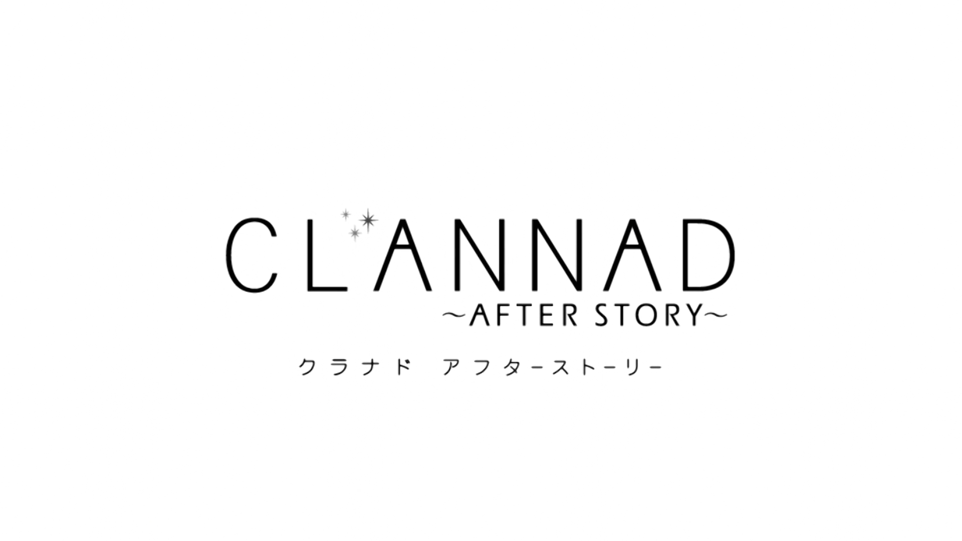 Clannad ~After Story~ (Blu-Ray) Announcement