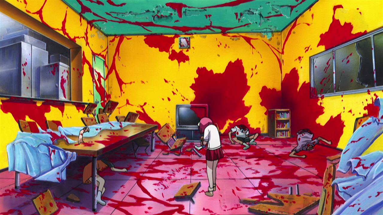 hentai class-room uncensored Elfen Lied (BD) - 08