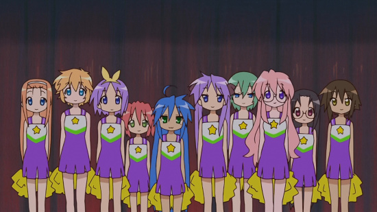 Lucky Star (Hi10P BD) – Vol 4